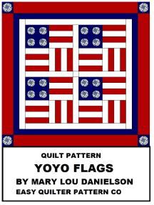 Quilt Pattern: Yo-Yo Flags