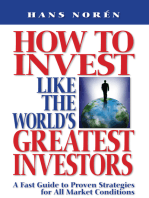 How To Invest Like The World's Greatest Investors