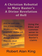 A Christian Rebuttal to Mary Baxter's A Divine Revelation of Hell