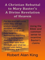 A Christian Rebuttal to Mary Baxter's A Divine Revelation of Heaven