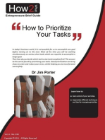 How to Prioritize Your Tasks