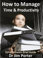 How to Manage Time and Productivity