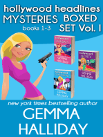 Hollywood Headlines Mysteries Boxed Set Vol. I (Books 1-3)