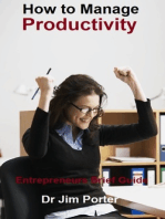 How to Manage Productivity