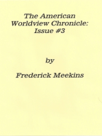 The American Worldview Chronicle