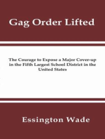 Gag Order Lifted