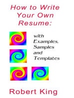 How to Write Your Own Resume