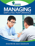 Managing Employee Performance