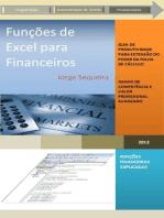 Funções de Excel para Financeiros