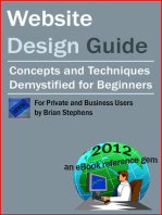 Website Design Guide for Private and Business Users