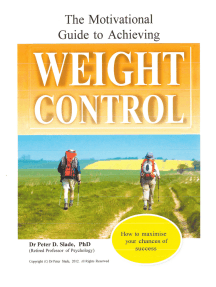 The Motivational Guide to Achieving Weight Control