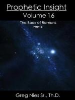 Prophetic Insight Volume 16