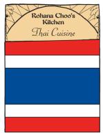 Thai Cuisine: Rohana Choo's Kitchen