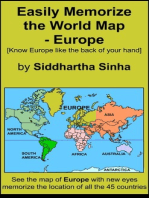 Easily Memorize the World Map: Europe