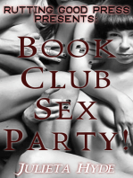 Book Club Sex Party!