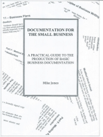 Business Documentation for the Small Business