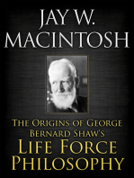 The Origins of George Bernard Shaw's Life Force Philosophy