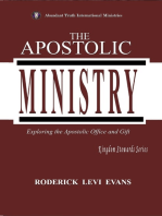 The Apostolic Ministry: Exploring the Apostolic Office and Gift