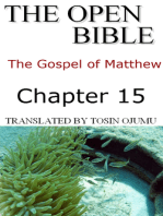 The Open Bible -The Gospel of Matthew