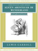 Lerne Englisch! Learn German! ALICE'S ABENTEUER IM WUNDERLAND