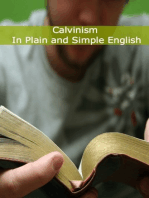 Calvinism In Plain and Simple English