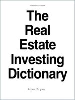 The Real Estate Investing Dictionary