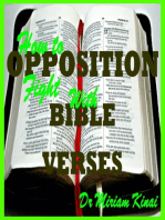How to Fight Opposition with Bible Verses