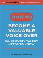 How to Become a Valuable Voice Over