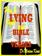 How to Fight Lying with Bible Verses