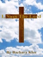 I, Saya The Lord
