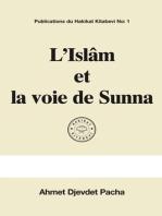 L'Islâm et la voie de Sunna
