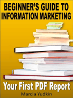 Beginner's Guide to Information Marketing