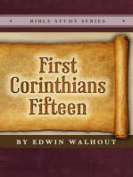 First Corinthians Fifteen