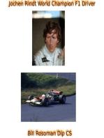 Jochen Rindt World Champion F1 Driver
