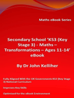 Secondary School 'KS3 (Key Stage 3) - Maths - Transformations – Ages 11-14' eBook
