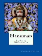 Hanuman Sowing Dissension