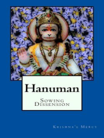 Hanuman Sowing Dissension