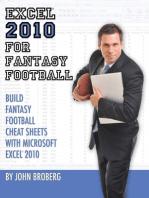 Excel 2010 for Fantasy Football