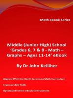Middle (Junior High) School 'Grades 6, 7 & 8 - Math - Graphs – Ages 11-14' eBook