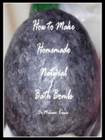 How to Make Natural Bath Bombs