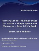 Primary School 'KS2 (Key Stage 2) - Maths – Shape, Space and Measures - Ages 7-11' eBook