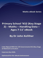 Primary School 'KS2 (Key Stage 2) - Maths – Handling Data - Ages 7-11' eBook