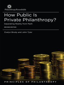 How Public is Private Philanthropy? Separating Reality from Myth