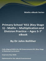 Primary School 'KS1 (Key Stage 1) - Maths - Multiplication and Division Practice – Ages 5-7' eBook