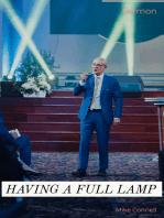 Having a Full Lamp (sermon)