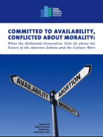 Committed to Availability, Conflicted about Morality