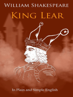 King Lear In Plain and Simple English (A Modern Translation and the Original Version)