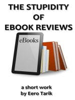 The Stupidity of eBook Reviews