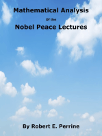 Mathematical Analysis of the Nobel Peace Lectures