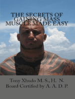 The Secrets of Gaining Mass Muscle Made Easy